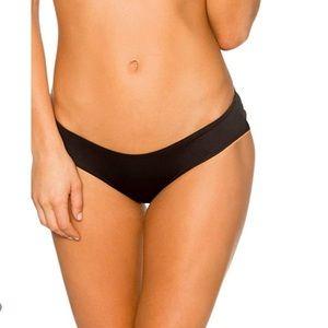 B Swim sassy pant black bikini bottom